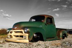 1954 Chevrolet C-10 Air Ride Suspension 3100