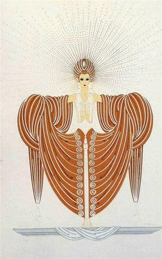 Erté / Romain de Tirtoff (1892-1990) / Celestial Virtues