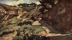 Salt Road by Giovanni Fattori 1880