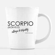 Definition of a Scorpio - Latte Coffee Mug