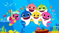 """You've heard the """"Baby Shark"""" song. Now find out the story behind the company that created it, who wrote it, how it became a viral hit — and when the """"Baby Shark"""" TV show is coming to Netflix. Baby Shark Song, Baby Shark Doo Doo, Shark Tv Show, Shark Images, Shark Pictures, Shark Party Decorations, Netflix, Shark Family, Shark Swimming"""