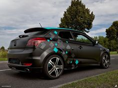 KIA ceed Fahrzeugstyling Design Folierung FOLIESIGN Eberswalde