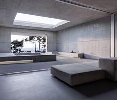 Living room inside the Two Verandas by Gus Wustemann.