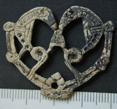 The Vikings RARE Openwork Silver Amulet with 2 Birds Norse Pendant C 1000 Ad | eBay