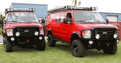 Sportsmobile Custom Camper Vans - Emergency Rescue Vans