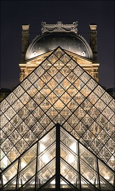 Musée du Louvre, Paris; photograph by David Rombaut.  Eat at the cafeteria in the basement, it's the BEST cafeteria food you'll ever have!