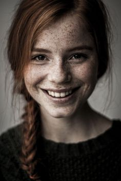 16 best Extra Ideas images on Pinterest | Beautiful freckles, Girl ...  Pinterest736 × 1104Search by image  Gorgeous girl with frekles! portrait Photo: Luca Hollestelle by Agata Serge