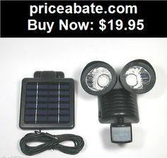 Farm-Garden: Solar Powered Motion Sensor light 22 LED Garage Outdoor Security Flood Spot Ligh - BUY IT NOW ONLY $19.95
