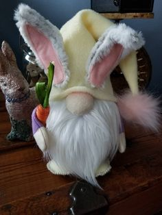 Your place to buy and sell all things handmade Easter Projects, Easter Crafts, Craft Projects, Diy Arts And Crafts, Crafts To Make, Fun Crafts, Primitive Carrots, Christmas Knomes, Spring Crafts