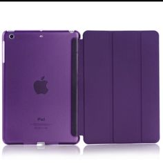 Magnetic Leather flip Case iPad Mini 1/2/3 Magnetic Leather flip Case iPad Mini 1/2/3 Listing is Fashion Stand Magnetic Slim Leather Case for iPad Mini 1/2/3 with front and back full cover case  2 in 1 fashion flip magnetic smart case with auto sleep and wake function.   This is the Brand new purple Case.   Order will ship within 24 hours.  Thanks for looking. Accessories