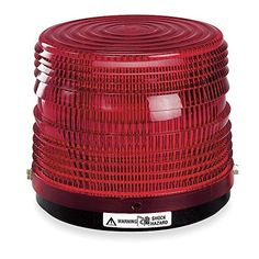 Federal Signal 141ST-120R 0.06 Amp 120 VAC at 50/60 Hz 5-1/2 Inch Dia x 5-1/4 In, N/A Color: N/A Model:. Made in USA.