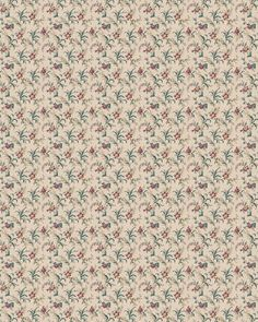 Download Dollhouse Wallpaper Floral 07