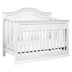 DaVinci Brook 4-in-1 Convertible Crib with Toddler Rail White