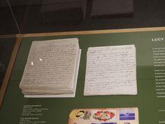 The manuscript of Anne of Green Gables, photo by Bernadeta Milewski