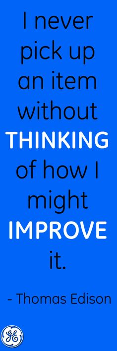 What are you going to improve today?