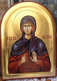 Sveta Petka 26x36pozlata www.pravoslavneikone.org