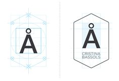 An architecture company's appropriately simple identity. christina_bassols_logo