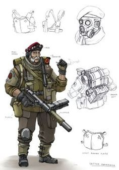 British Commando V2 by TugoDoomER