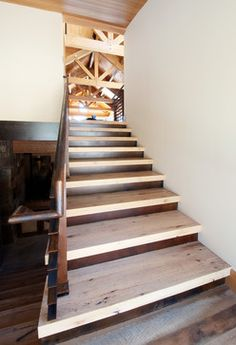Reclaimed Oak Stair Treads By Reclaimed DesignWorks