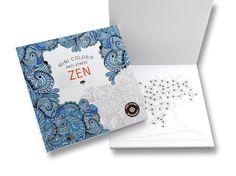 Mini Colorir Anti-Stress Zen | Arte-Terapia