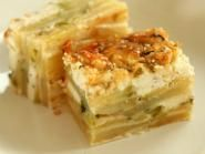 Burek de cartofi si dovlecei cu branza Lasagna, Food And Drink, Appetizers, Ethnic Recipes, Sim, Middle, Green, Appetizer, Entrees