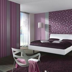 Find This Pin And More On Dormitorio Definitivo Colores 17 Purple Bedroom Decor