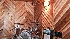 Home recording studio design and construction