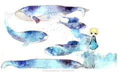 The Whale Creator by j-b0x