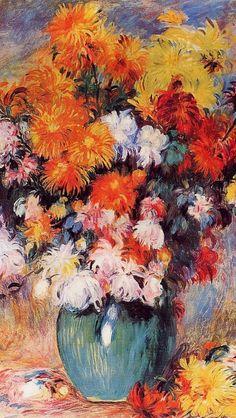 Flowers by Renoir