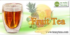 Fruit Tea, Teas, Pint Glass, Islands, Tropical, Cold, How To Make, Tees, Cup Of Tea