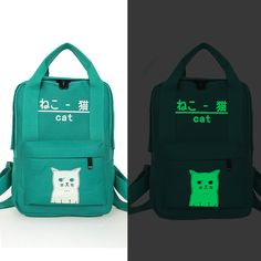 FORUDESIGNS Luminous Printing School Bag Sets Kids School Bookbags Cool 3D Schoolbag for Teenager Girls Children Mochila Escolar