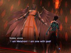 Metatron - Pic from Shin Megami Tensei Nocturne