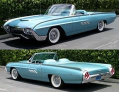 Ford thunderbird - My list of the best classic cars Retro Cars, Vintage Cars, Antique Cars, Vintage Diy, Vintage Ideas, Ford Thunderbird, Ford Motor Company, Austin Martin, Cool Old Cars