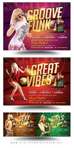 Party Madness Nightclub Psd Flyer Template Download .PSD Here : http://graphicriver.net/item/party-madness-nightclub-psd-flyer-template/3325792?ref=kwangsoo