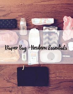 Diaper Bag Newborn Essentials