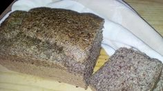 Recipes for You Flaxseed Bread, Carb Substitutes, Banting Recipes, Bread Rolls, Allrecipes, Bread Recipes, Banana Bread, Low Carb, Lchf