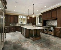 Kitchen Design Basics Kahverengi Dolaplar  Denenecek Projeler  Pinterest