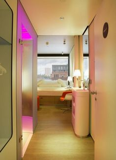 CitizenM Hotel by Concrete Architectural Associates, Glasgow   UK hotel hotels and restaurants