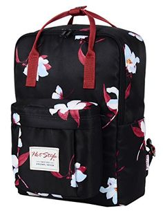 Vintage Laptop Backpack Canvas College School Bag Fits by Puersit Bags fa7e354ff36a5