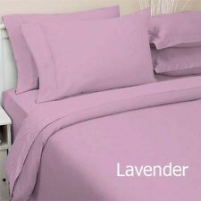 COMPLETE BEDDING COLLECTION 1000tc egyptian cotton LAVENDER pattern & SIZE