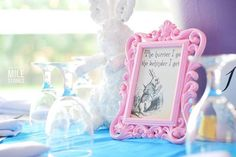 Alice in Wonderland print and decor from an Alice in Wonderland Birthday Party on Kara's Party Ideas | KarasPartyIdeas.com (10)