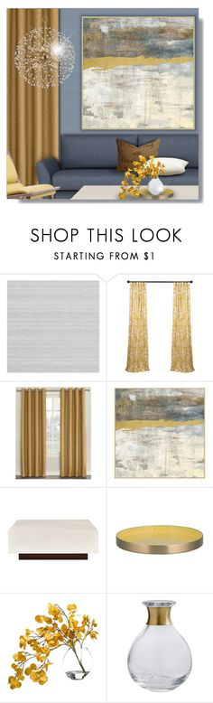 """""""Untitled #2115"""" by cb-hula ❤ liked on Polyvore featuring interior, interiors, interior design, home, home decor, interior decorating, Zoffany, Sun Zero, Bernhardt and Bahne"""