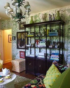portfolio of John Loecke , an amazingly talented interior designer known for colors and patterns
