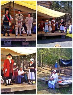 Bluebird Travels: 18th Century Fashion Show, Herbalists, and Frybread at Fort Yargo Market Faire | The Bluebird Patch (Happiness Blog)