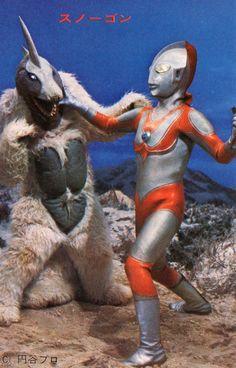 Snowgon vs. Ultraman Jack