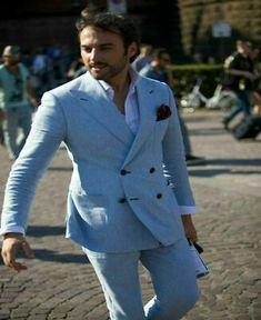 Linen Wedding Suit, Linen Suit, Wedding Suits, Wedding Tuxedos, Gentleman Mode, Gentleman Style, Blazer, Classic Men, Timeless Classic