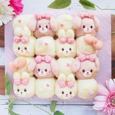 Bento Recipes, Pureed Food Recipes, Recipies, Japanese Bread, Japanese Sweets, Fancy Cakes, Cute Cakes, Puff And Pie, Cute Bento Boxes