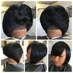 42 Best Short Bob Cuts for Get Your Haircut Inspiration Today!, Best Short Bob Cuts Relationships with short female haircuts all fold differently. Someone considers them very attractive, stylish and practical. Summer Hairstyles, Weave Hairstyles, Girl Hairstyles, Black Hairstyles, Tori Tori, Curly Hair Styles, Natural Hair Styles, Sassy Hair, Short Hair Cuts For Women