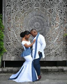 40 Gorgeous Wedding Dress Styles For Your African Traditional Wedding - The Glossychic african traditional wedding dress<br> Here are some gorgeous wedding dress styles you can choose from for your african traditional wedding. Zulu Traditional Wedding Dresses, South African Traditional Dresses, Zulu Traditional Attire, Traditional Weddings, How To Dress For A Wedding, Gorgeous Wedding Dress, Wedding Dress Styles, Dress Wedding, African Print Wedding Dress