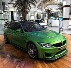 BMW F80 M3 green